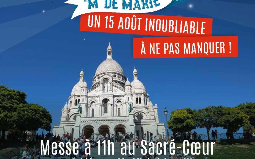 Messe de 11h à Montmartre Samedi 15 Août