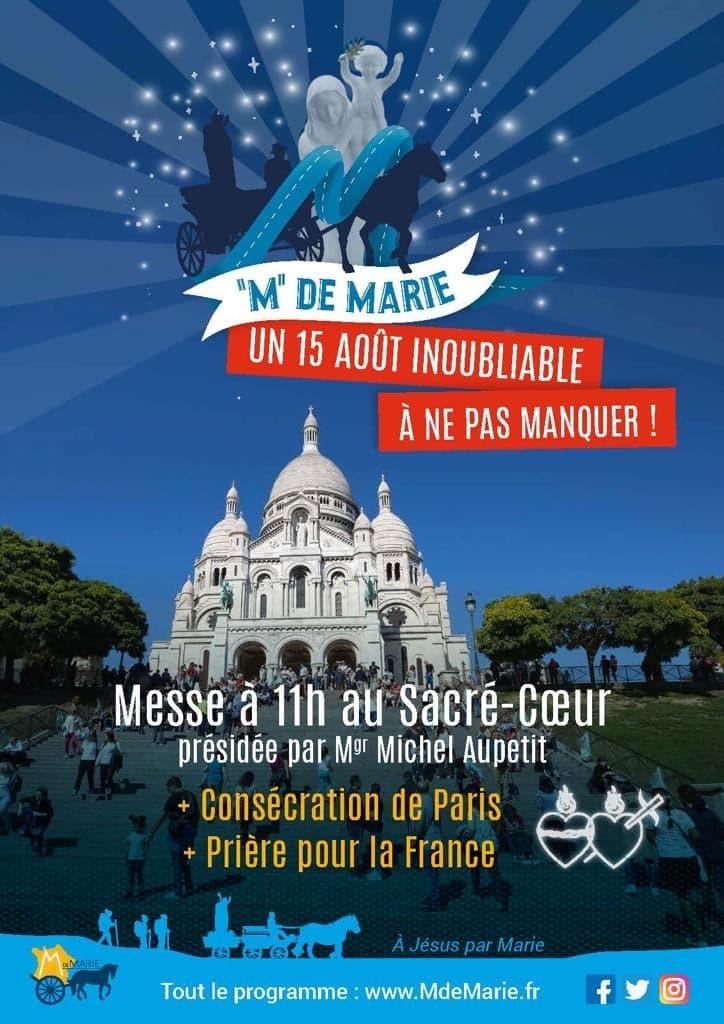 Un 15 août inoubliable à Paris : M de MARIE. Messe_Sacr%C3%A9_Coeur