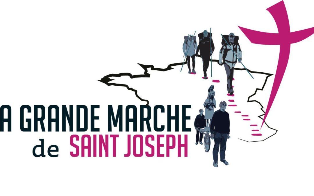 La grande marche avec Saint-Joseph